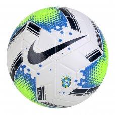 Bola de Futebol Campo Nike Strike - Branco e Verde