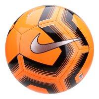 Bola de Futebol Campo Nike Train Pitch II Team - Laranja e Preto