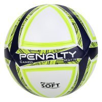 Bola de Futebol Campo Penalty Matis Duotec IX - Branco e Marinho