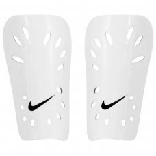 Caneleira Futebol Nike J Guard - Branco e Preto