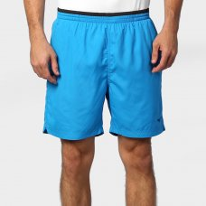 Bermuda Mizuno Master Fitness Masculina - Verde Água e Azul