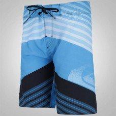 Bermuda Água Quiksilver Incline Logo Masculina - Azul