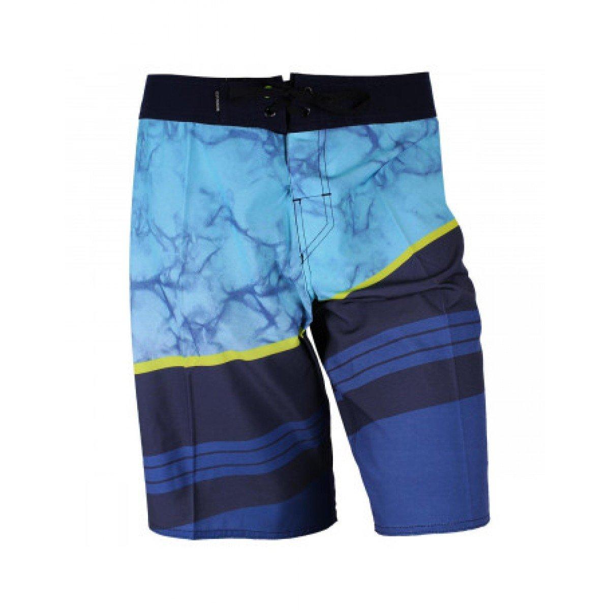 Bermuda Quiksilver Slash Fade Navy Azul Masculina