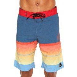 Bermuda Água Quiksilver Slab Logo Multi Color - Masculina