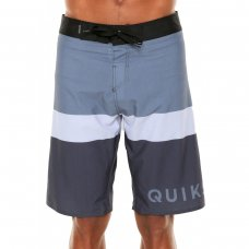 Bermuda Água Quiksilver Everyday Blocked Masculina - Cinza