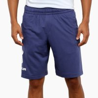 Bermuda Moletom Under Armour Sportstyle Logo Masculina - Azul e Branco