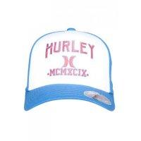 Boné Hurley Logo Azul e Branco - Masculino