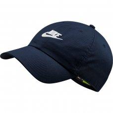 Boné Nike Sportswear H86 Futura Washed Aba Curva - Marinho