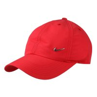 Boné Nike Aba Curva H86 Metal Swoosh - Vermelho