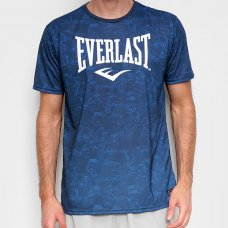 Camiseta Everlast Estampada Masculina - Azul