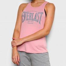 Regata Everlast Logo Boxing Feminina - Rosa