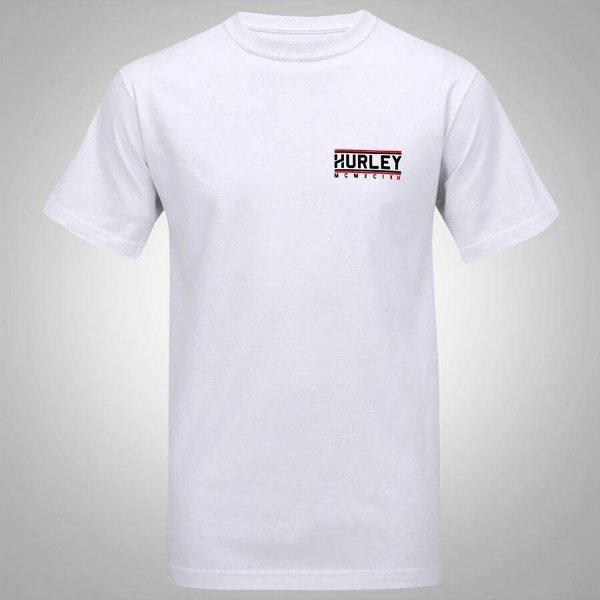 Camiseta Hurley First Row Masculina - Branco
