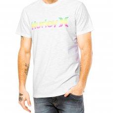 Camiseta Hurley Especial One e Only Gradiente - Branca
