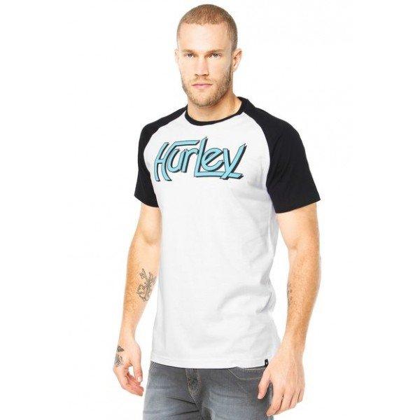 Camiseta Hurley Especial One&Only Raglan - Branca