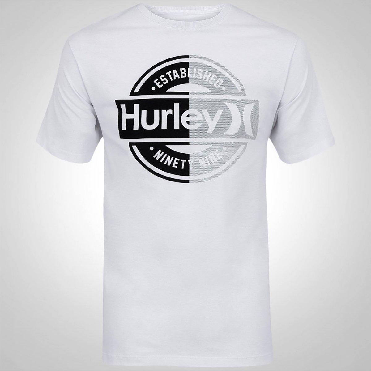 Camiseta Hurley Accredited Masculina - Branca