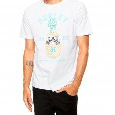 Camiseta Hurley Silk Pina Masculina - Branco