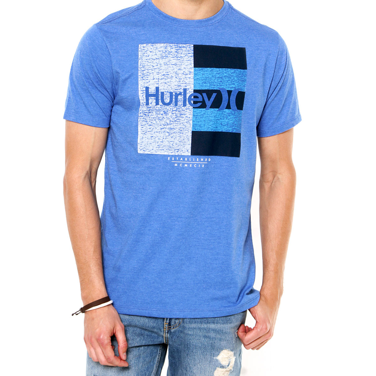 Camiseta Hurley Dont Start Masculina - Azul