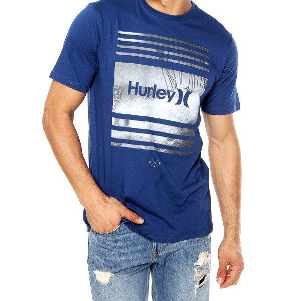 Camiseta Hurley Sustenance Masculina - Azul