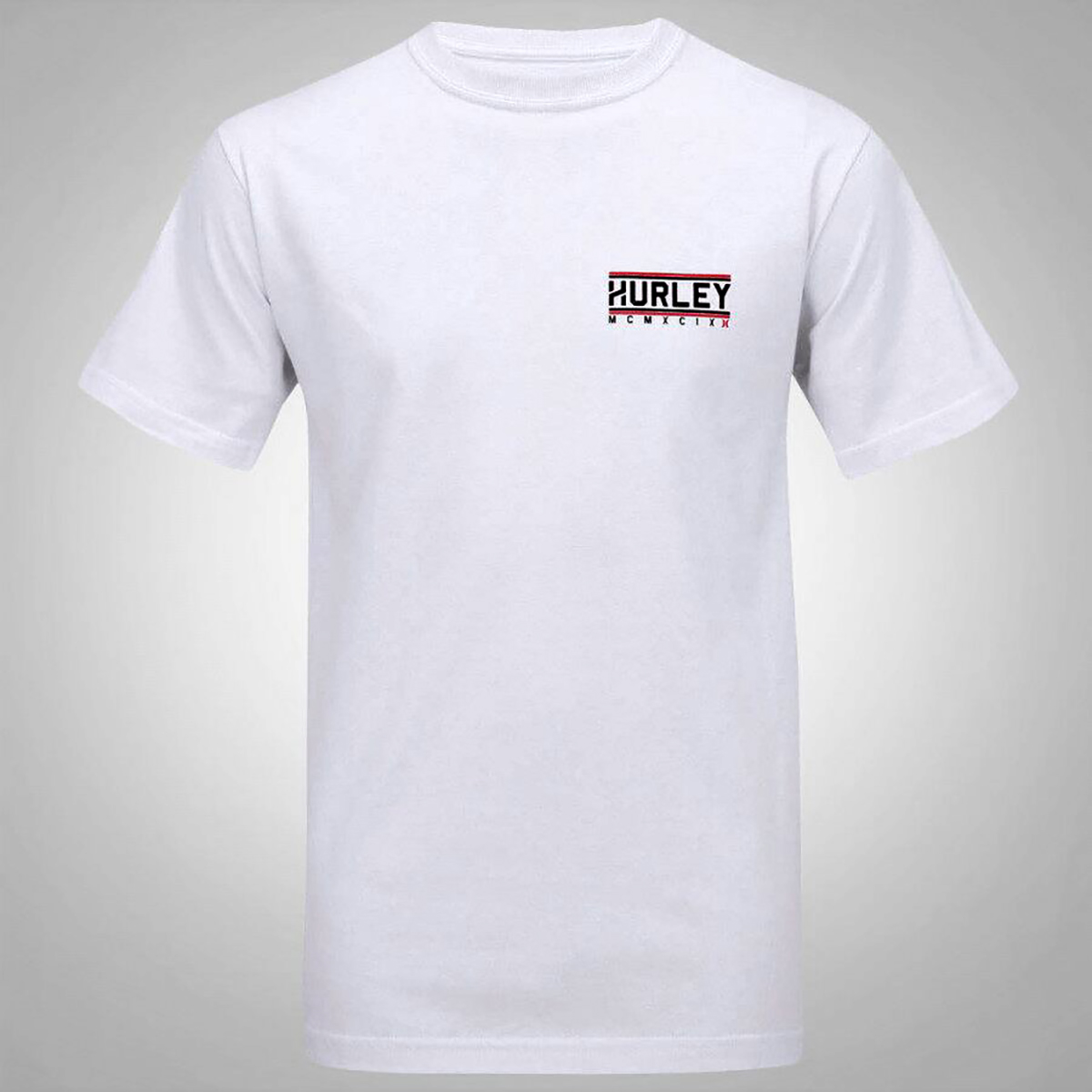 Camiseta Hurley First Row Masculina - Branco