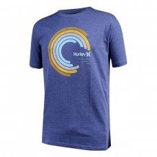 Camiseta Hurley Silk Established Masculina - Azul