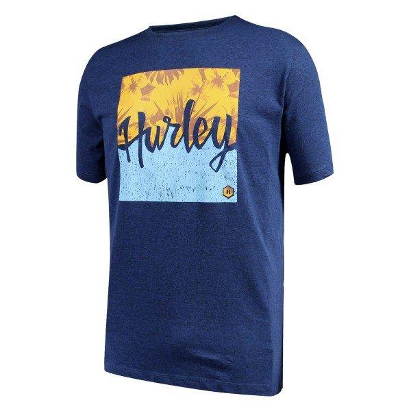 Camiseta Hurley Daw Tides Masculina - Azul
