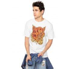 Camiseta Hurley Wolf Masculina - Branca