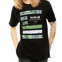 Camiseta Hurley Beachside Masculina - Preta