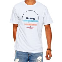 Camiseta Hurley Banded Masculina - Branca