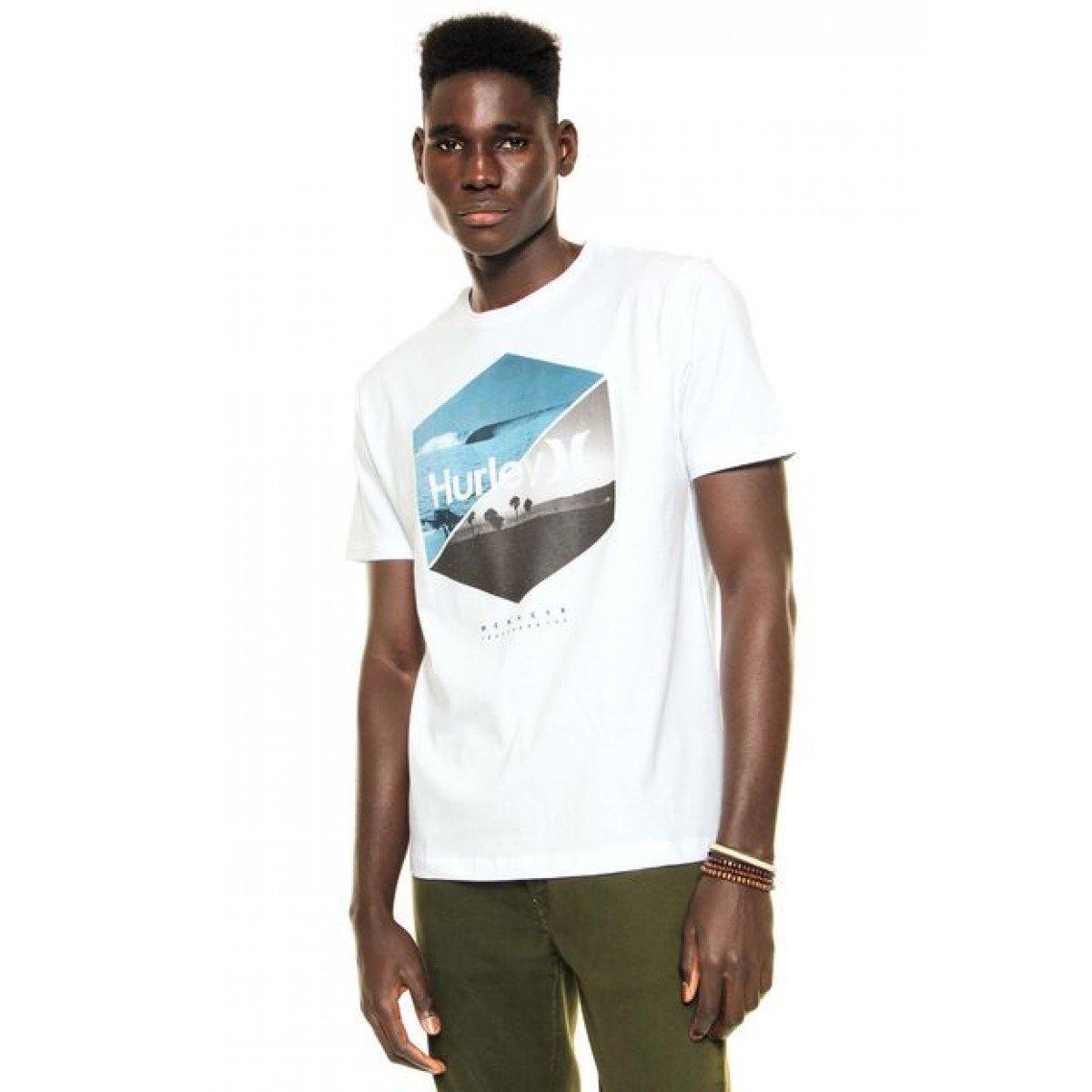 Camiseta Hurley Seven Twenty - Branca