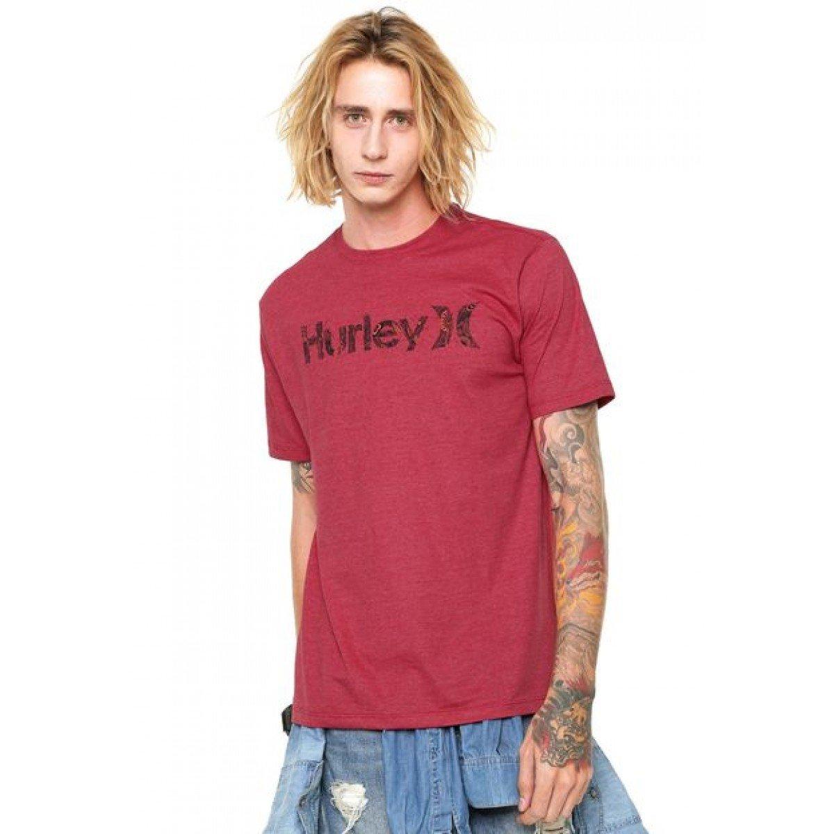 Camiseta Quiksilver Silk Organic - Vermelha