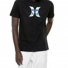 Camiseta Hurley Silk Skull Masculina - Preta