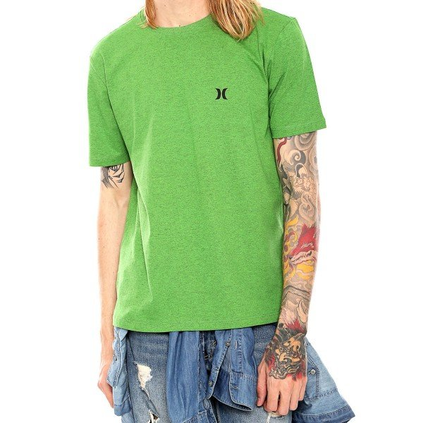 Camiseta Hurley Icon Masculina - Verde