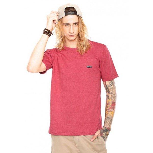 Camiseta Hurley Basic Masculina - Vermelha