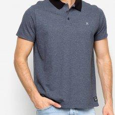 Camisa Polo Hurley Classic Masculina - Marinho