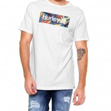 Camiseta Hurley One E Only Tropical Masculina - Branca