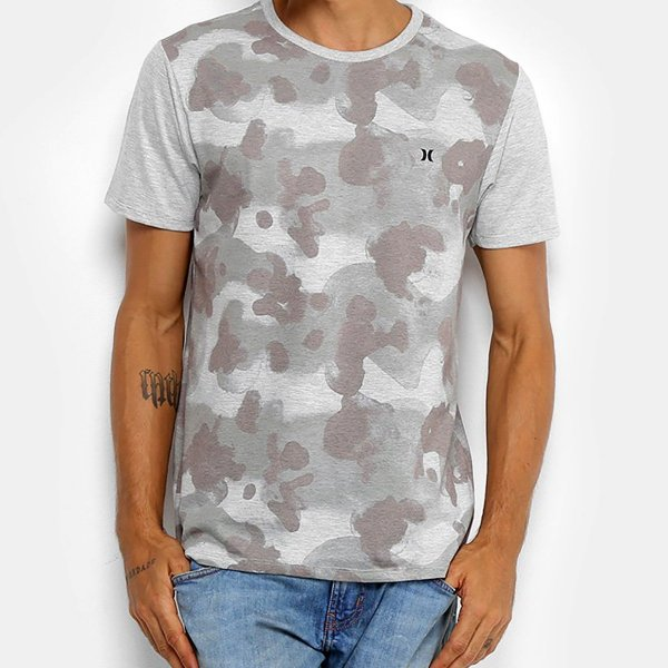 Camiseta Hurley Especial Bleed Masculina - Musgo