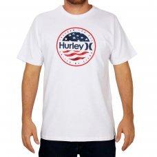Camiseta Hurley Silk One E Only América Masculina - Branco