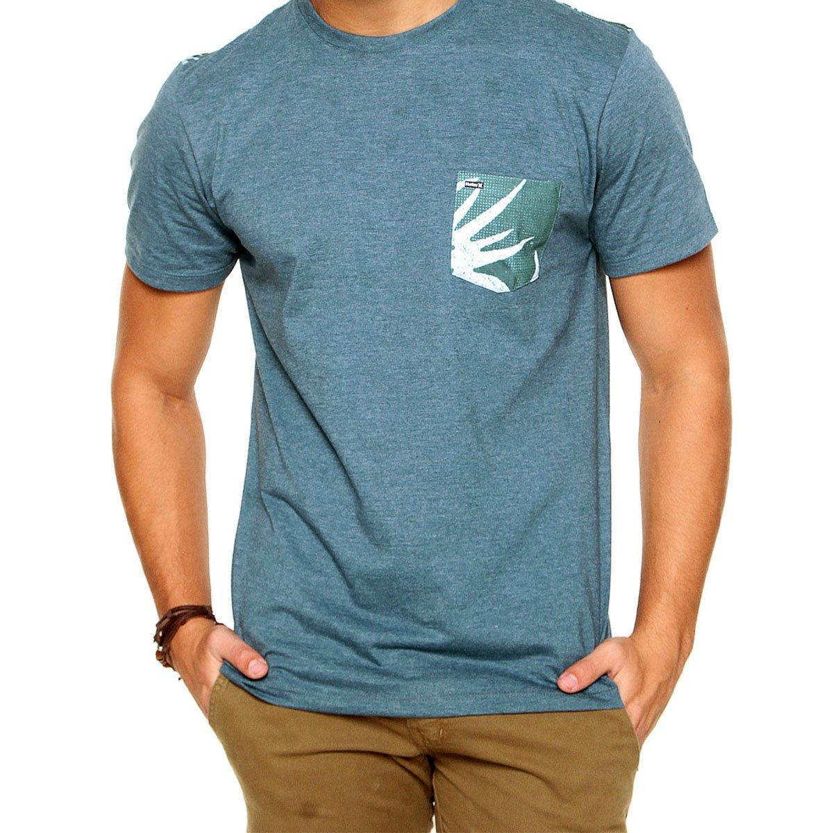 Camiseta Hurley Especial Burst Masculina - Verde
