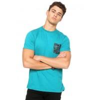 Camiseta Hurley Especial Dark Rose Masculina - Verde