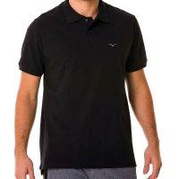 Camisa Polo Mizuno Rory 2 Masculina - Preto