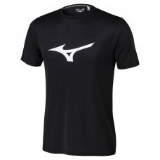 Camiseta Mizuno Run Spark Masculina - Preto