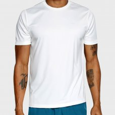 Camiseta Mizuno Run Spark 2 Masculina - Branco