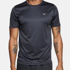 Camiseta Mizuno Run Spark 2 Masculina - Preto