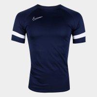 Camisa Nike Academy Dri-Fit Masculina - Marinho e Branco