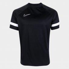 Camisa Nike Academy Dri-Fit Masculina - Preto e Branco