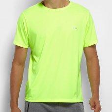 Camiseta Olympikus Essential Masculina - Verde Limão