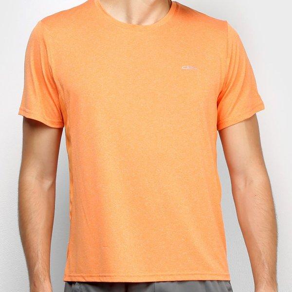 Camiseta Olympikus Fit Masculina - Laranja Claro