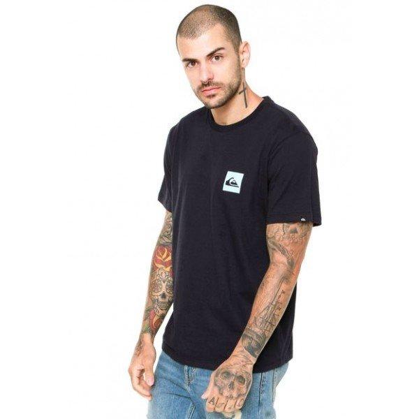 Camiseta Quiksilver Troppo Masculina - Preta
