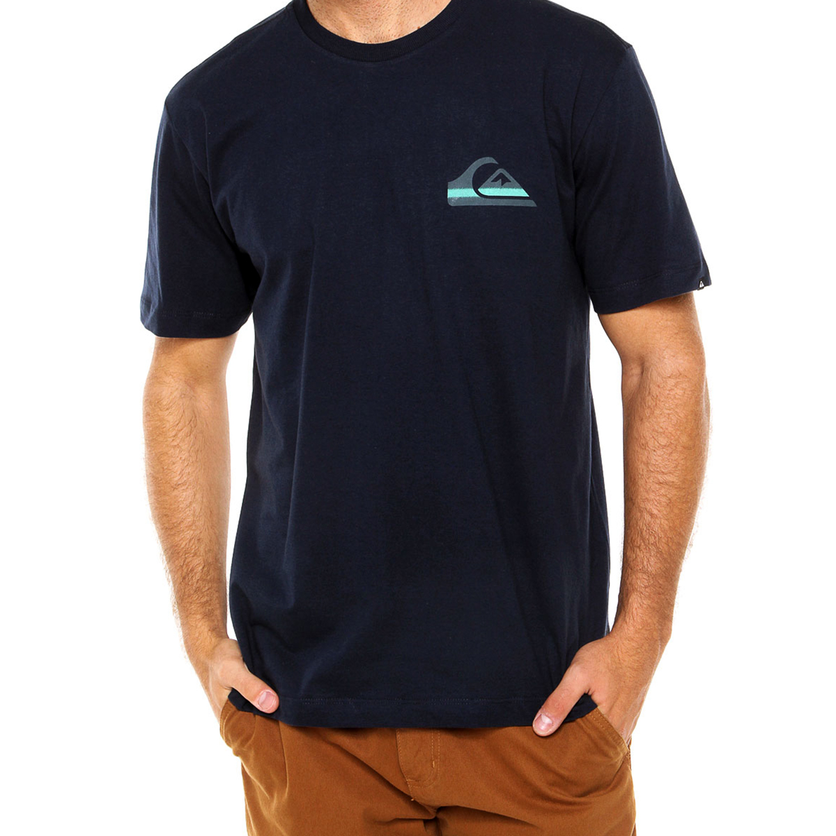 Camiseta Quiksilver Neon Masculina - Marinho