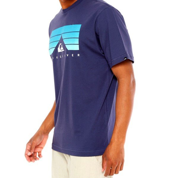 Camiseta Quiksilver Cabivolt Masculina - Roxo